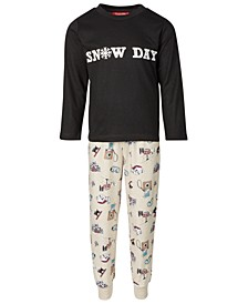 Matching Kids Snow Day Family Pajama Set, Created for Macy's