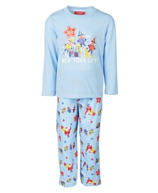 Matching Kids Macy's Thanksgiving Day Parade Family Pajama Set, Created for Macy's