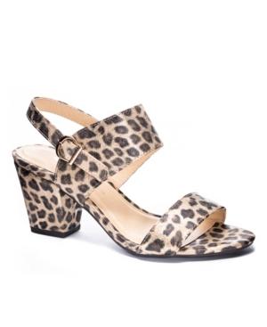 Women's Spot On Block Heel Sandals Women's Shoes