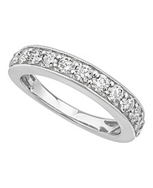 Certified Diamond Pave Band 1 ct. t.w. in 14k White or Yellow Gold
