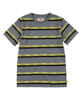 Logo Big Boys Striped T-shirt