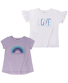 Big Girls Love Two Back Logo Tees