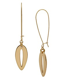 Cut Out Long Drop Earrings