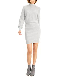 Ribbed Mini Sweater Dress, Created for Macy's