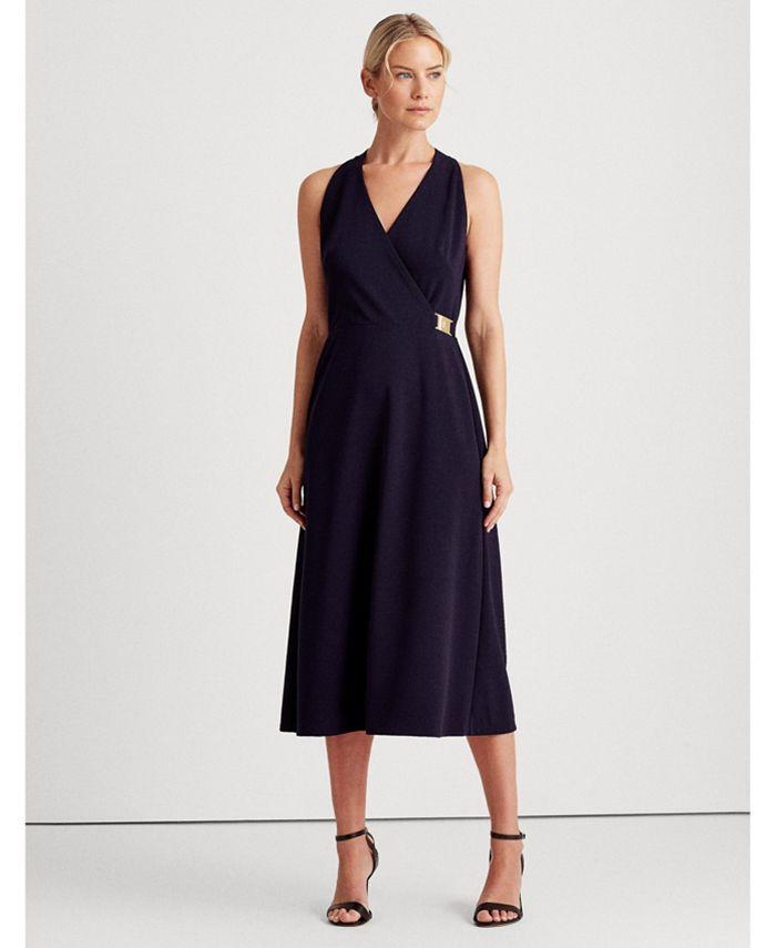 Lauren Ralph Lauren - Crepe Sleeveless Dress