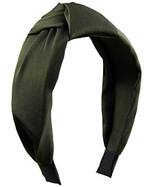 INC Satin Knotted Headband, Created for Macy's