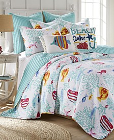 Playa Vista Quilt Set, Full/Queen