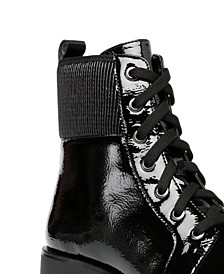 Derry Lug Sole Booties