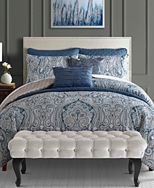 Willoughby 8-Pc. Comforter and Coverlet Set