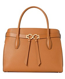 Toujours Medium Leather Satchel