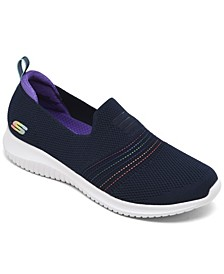 Women's Ultra Flex - Serene Aura Slip-On Walking Sneakers from Finish Line