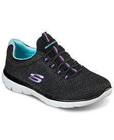 Women's Summits - Fresh Take Wide Width Walking Sneakers from Finish Line