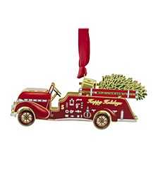 Fire Truck 3D Ornament