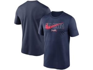 Nike Atlanta Braves Men's City Swoosh Legend T-Shirt