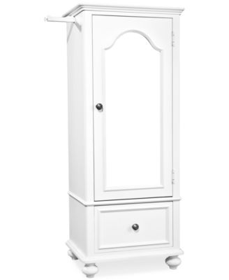 Roseville Kids Bedroom Furniture, Wardrobe with Mirrored Door