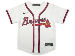 Nike Youth Atlanta Braves Official Blank Jersey