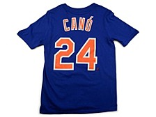 New York Mets Youth Name and Number Player T-Shirt Robinson Cano