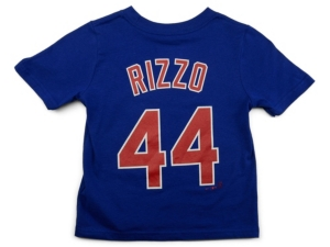 Nike Chicago Cubs Anthony Rizzo Little Boys Name and Number Player T-Shirt