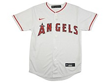 Youth Los Angeles Angels Official Blank Jersey
