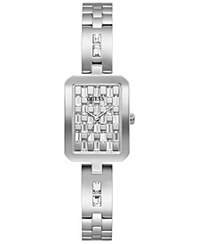 Women's Stainless Steel & Crystal Bracelet Watch 22mm
