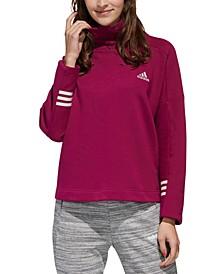 Women's Essential Funnel-Neck Sweatshirt