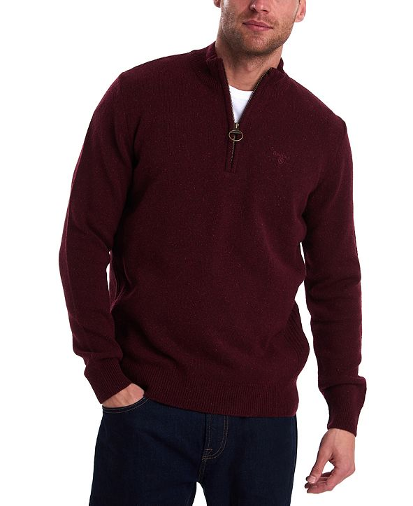 Barbour Men's Tisbury Half-Zip Sweater