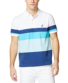 Men's Colorblocked Cotton Jersey Polo