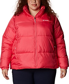 Plus Size Puffect Logo Jacket