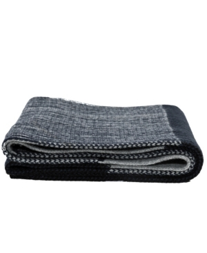 Men's Knitted Lined Pattern Scarf