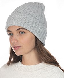 Rib Solid Beanie With Lurex, Created for Macy's