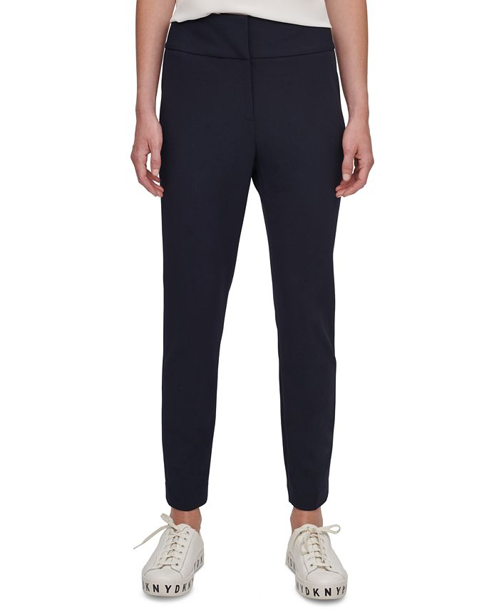 DKNY - Cropped Straight-Leg Pants