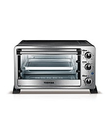 MC25CEY-CHSS 6-Slice Convection Toaster Oven, Stainless Steel