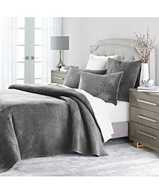 Velvet 3 pc Full/Queen Coverlet, Created for Macy's