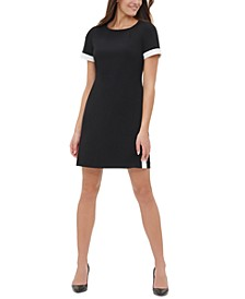 Snap-Hem Shift Dress