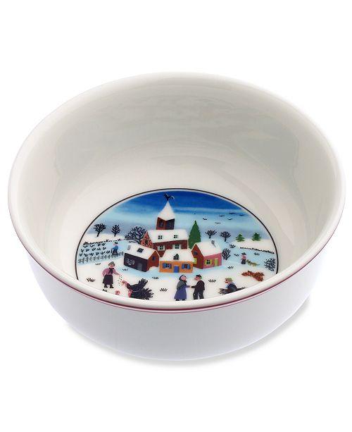 Villeroy & Boch Design Naif Christmas Cereal Bowl