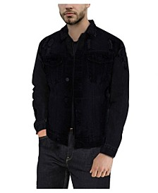 Men's Slim Washed Denim Jacket
