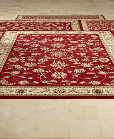 Km Home Area Rug Set Florence Collection 4 Pc Set Isfahan