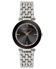 Women's Silver-tone Metal Alloy Bracelet Watch, 32 mm