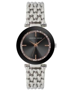 Women's Silver-tone Metal Alloy Bracelet Watch
