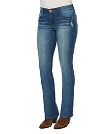 Women's AB Solution Itty Bitty Boot Jeans