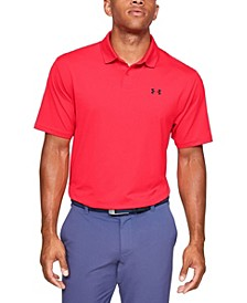 Men's Performance Polo Textured