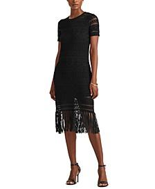 Petite Fringe Dress