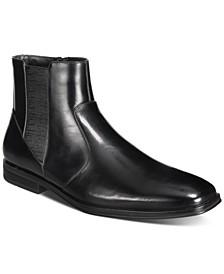 Men's Luxe Chelsea Boots, Created for Macy's