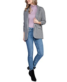Ruched-Sleeve Open Blazer, in Regular & Petite