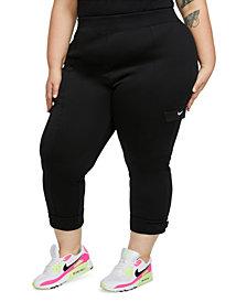 Nike Plus Size Adjustable-Cuff Cargo Pants