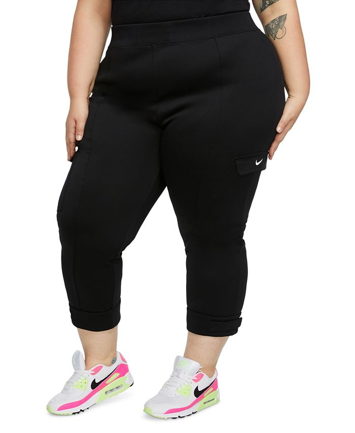 Nike - Plus Size Adjustable-Cuff Cargo Pants