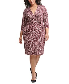 Plus Size Side-Twist Dress