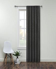 "Brooks Room Darkening Rod Pocket Curtain Panel By Nefeli, 84"" x 52"""