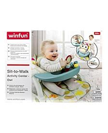 Sit to Walk Activity Center - Owl