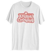 Hybrid Men's Animal Crossing Logo T-Shirt